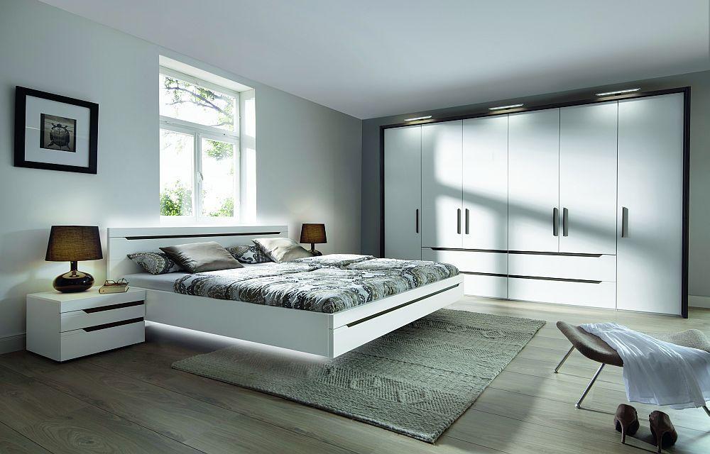 Loriano von Nolte Möbel - Schlafzimmer Mooreiche weiß