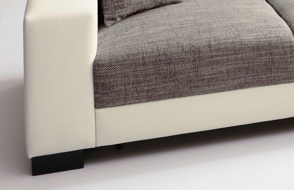 lagos livigno von candy ecksofa wei grau polsterm bel g nstig online kaufen sofa couch. Black Bedroom Furniture Sets. Home Design Ideas
