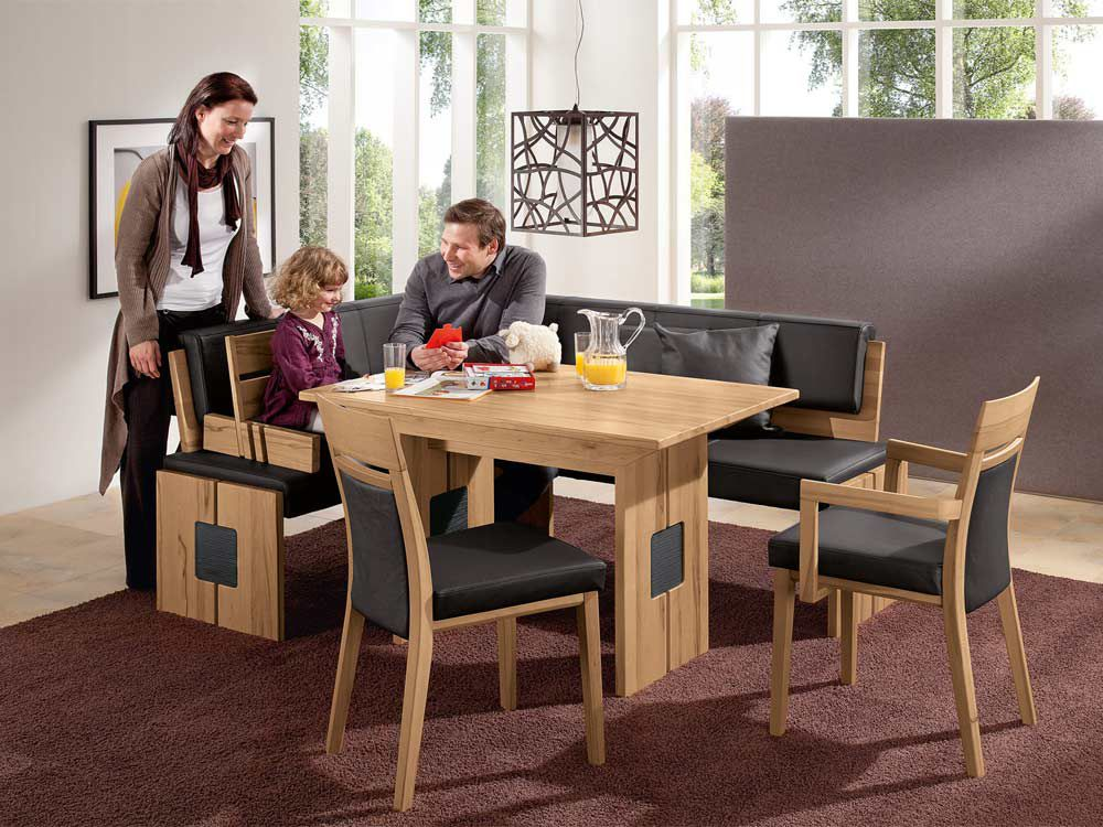 monte von w ssner esszimmer asteiche natur. Black Bedroom Furniture Sets. Home Design Ideas