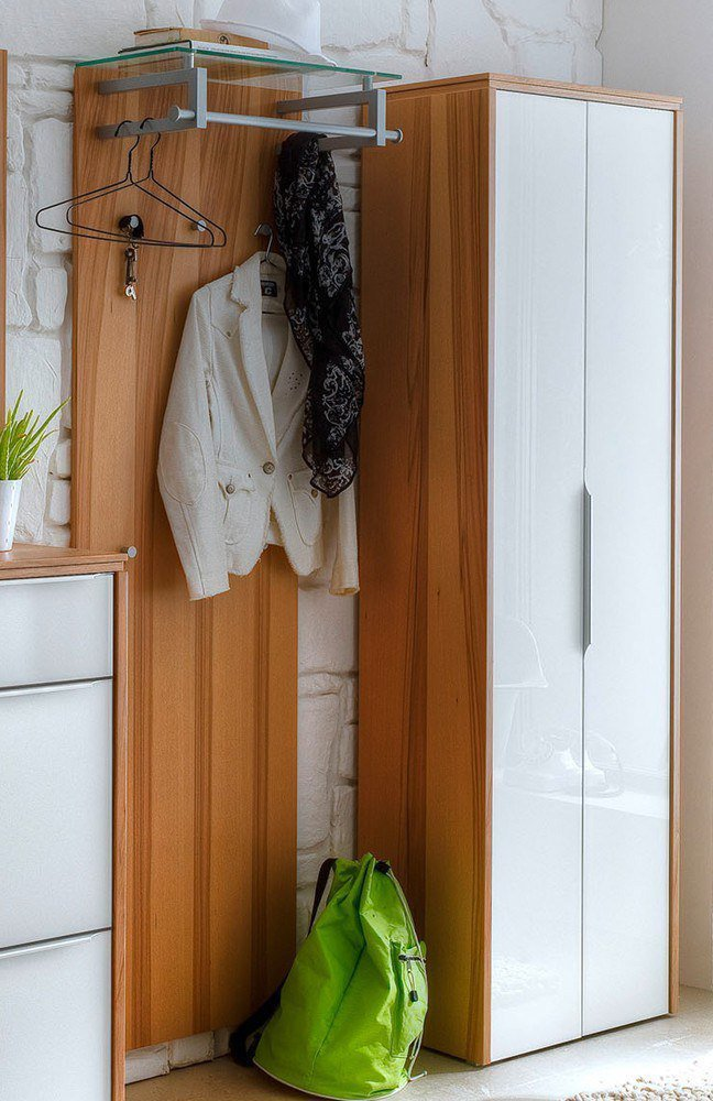 Garderobenm bel multi color gloss von wittenbreder m bel for Garderobe mit glasfront