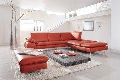 ledergarnitur braun von willi schillig polsterm bel modell 29858 loop mozart w schillig. Black Bedroom Furniture Sets. Home Design Ideas