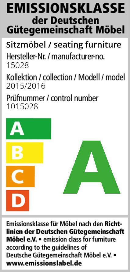 Arco Polstermöbel Aachen 2500 Polstergarnitur grün mit Muster ...