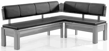 Eckbank weiß grau  Eckbank DC 3000 Weiß/ Grau von Wössner | Möbel Letz - Ihr Online-Shop