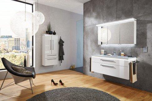 badezimmer cool line in wei von puris m bel letz ihr online shop. Black Bedroom Furniture Sets. Home Design Ideas