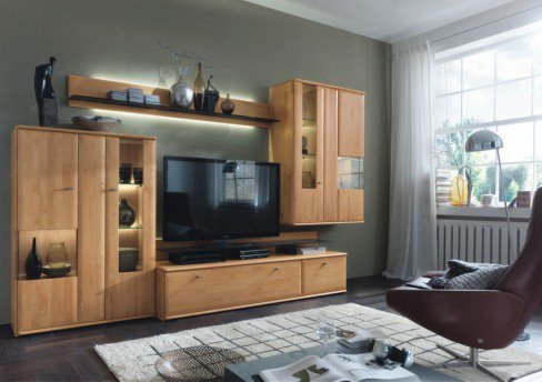 w stmann wohnwand bari 3000 erlenholz m bel letz ihr online shop. Black Bedroom Furniture Sets. Home Design Ideas