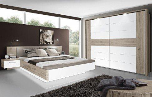 Rondino von Forte - Schlafzimmer Sandeiche - weiß