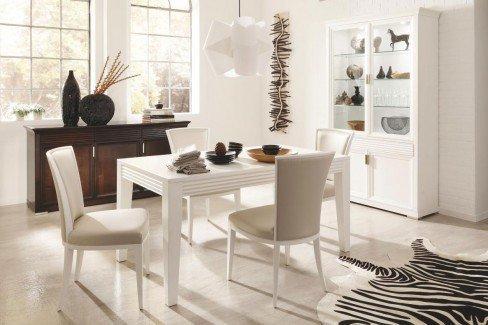 esszimmer luna elfenbein antik von selva m bel letz ihr online shop. Black Bedroom Furniture Sets. Home Design Ideas