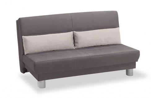 schlafsofa enzo von verholt in grau mit nierenkissen m bel letz ihr online shop. Black Bedroom Furniture Sets. Home Design Ideas