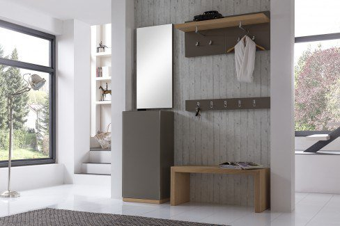 bienenm hle garderobe 09 wildeiche granit m bel letz ihr online shop. Black Bedroom Furniture Sets. Home Design Ideas