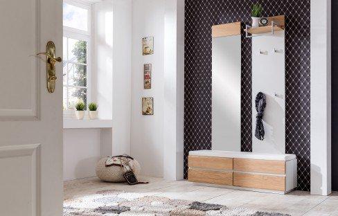 Carat von Bienenmühle - Garderobe 01 Wildeiche/ Granit