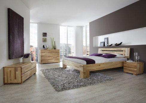Avantgarde von Dico Möbel - Holzbett in Buche wenge