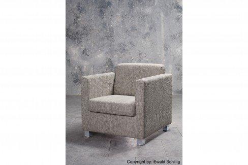ewald schillig lido lounge sessel in grau m bel letz. Black Bedroom Furniture Sets. Home Design Ideas