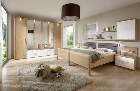 Comfort Twin von Disselkamp - Schlafzimmer Wildeiche - Hochglanz