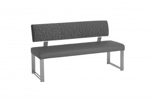 bank neo grau von mwa aktuell m bel letz ihr online shop. Black Bedroom Furniture Sets. Home Design Ideas