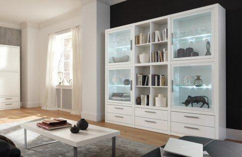 wohnwand como wei von cs schmalm bel m bel letz ihr online shop. Black Bedroom Furniture Sets. Home Design Ideas