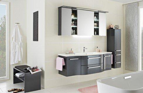 Contea von Pelipal - Badezimmer in Sanremo Eiche, 3-teilig