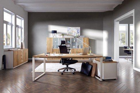 r hr schreibtisch eiche wei m bel letz ihr. Black Bedroom Furniture Sets. Home Design Ideas