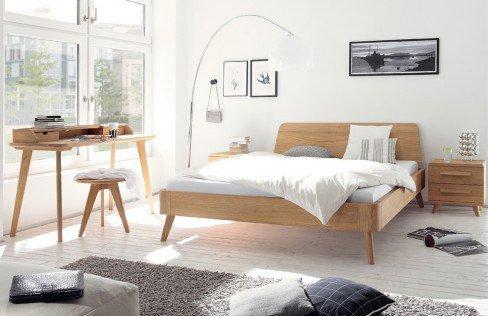 hasena oak bianco bett eiche bianco massiv m bel letz ihr online shop. Black Bedroom Furniture Sets. Home Design Ideas