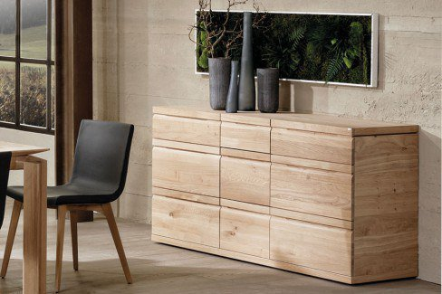 voglauer sideboard v loft 155 wildeiche ge lt m bel letz ihr online shop. Black Bedroom Furniture Sets. Home Design Ideas