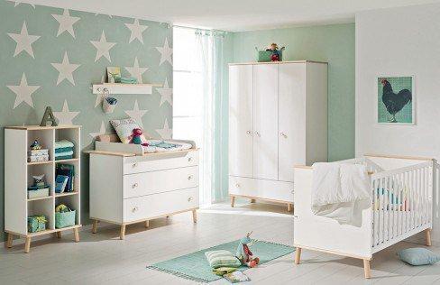 Ylvie von Paidi - Babyzimmer kreideweiß Birke