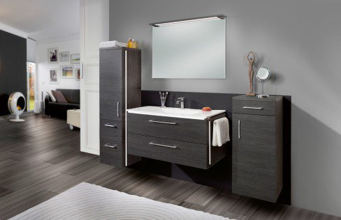 badezimmer 3170 robinie dunkel von marlin m bel letz ihr online shop. Black Bedroom Furniture Sets. Home Design Ideas