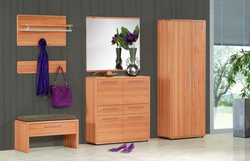 garderobe vera set 4 teilmassiv von voss m bel m bel letz ihr online shop. Black Bedroom Furniture Sets. Home Design Ideas