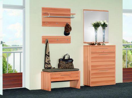 garderobe vera set 6 reliefhobelung von voss m bel m bel letz ihr online shop. Black Bedroom Furniture Sets. Home Design Ideas