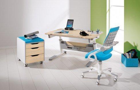 Jaro von Paidi - Schreibtisch neigbar höhenverstellbar kreide