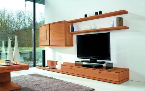 wohnwand v vita von voglauer in kernbuche 06 m bel letz ihr online shop. Black Bedroom Furniture Sets. Home Design Ideas