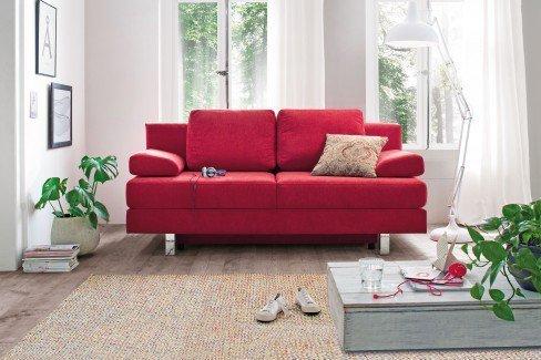restyl rhonda schlafsofa mit bettkasten in rot m bel letz ihr online shop. Black Bedroom Furniture Sets. Home Design Ideas