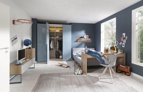 welle n trance jugendzimmer hochglanz eiche m bel letz ihr online shop. Black Bedroom Furniture Sets. Home Design Ideas