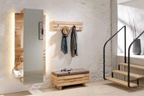 voglauer garderobe v organo orlinda in wildeiche spiegel m bel letz ihr online shop. Black Bedroom Furniture Sets. Home Design Ideas