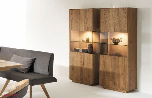 anrei vitrine puro 750 in asteiche m bel letz ihr online shop. Black Bedroom Furniture Sets. Home Design Ideas