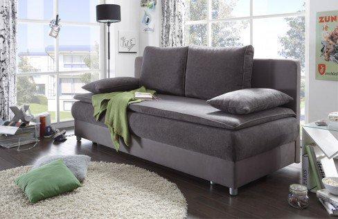 black red white schlafsofa svenja grau mit bettkasten m bel letz ihr online shop. Black Bedroom Furniture Sets. Home Design Ideas