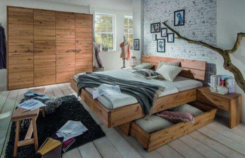 Runar von Pure Natur - Schlafzimmer Wildeiche natur geölt