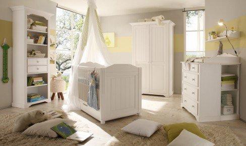 Cinderella Premium von BEGABINO - Landhaus Jugendzimmer weiß