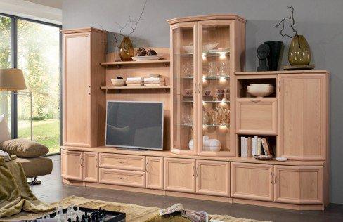 wohnwand d nholm eb3 1 u von stralsunder m bel letz. Black Bedroom Furniture Sets. Home Design Ideas
