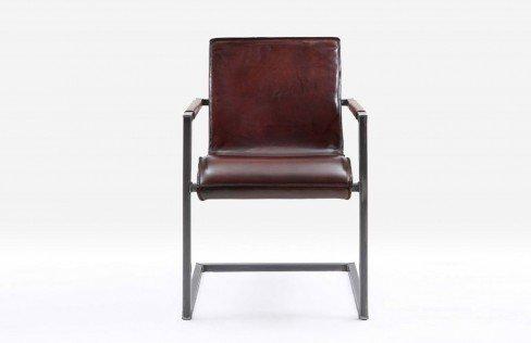 bodahl m bler sarina sabina leder rich brown edelstahl. Black Bedroom Furniture Sets. Home Design Ideas