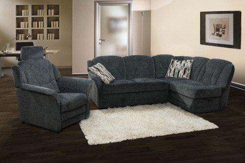 pm oelsa meissen ecksofa in dunkelgrau m bel letz ihr online shop. Black Bedroom Furniture Sets. Home Design Ideas