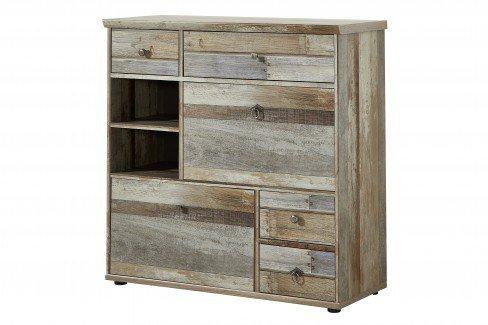 Bonanza von Innostyle - Garderobe in Driftwood-Optik