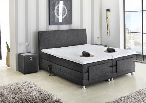 jockenh fer raffinetto boxspringbett mit motorischer kopf und fu teilverstellung m bel letz. Black Bedroom Furniture Sets. Home Design Ideas
