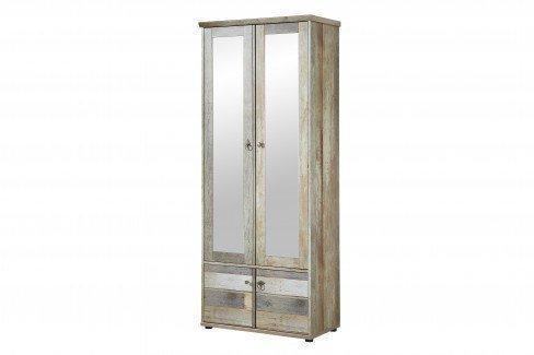 innostyle garderobenschrank bonanza mit spiegel m bel letz ihr online shop. Black Bedroom Furniture Sets. Home Design Ideas