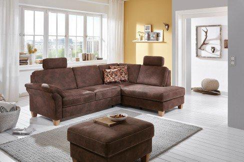 sit more borkum ecksofa braun m bel letz ihr online shop. Black Bedroom Furniture Sets. Home Design Ideas