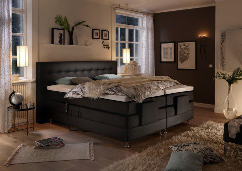 stellwerk boxspringbett 1631 mit motor m bel letz ihr online shop. Black Bedroom Furniture Sets. Home Design Ideas