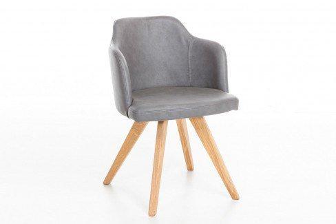 mca direkt stuhl tomaso sitz ausf hrung c steingrau. Black Bedroom Furniture Sets. Home Design Ideas
