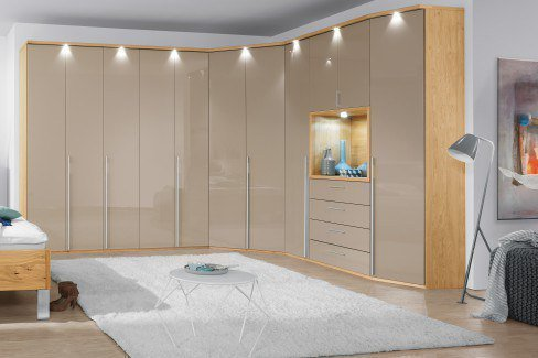 cd studioline eckschrank taupe von disselkamp m bel letz ihr online shop. Black Bedroom Furniture Sets. Home Design Ideas