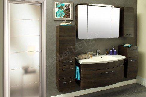 pelipal badm bel set cassca in mokka m bel letz ihr. Black Bedroom Furniture Sets. Home Design Ideas