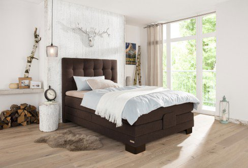 basic boxspringbett ayda von schlaraffia in chocolate mit motor m bel letz ihr online shop. Black Bedroom Furniture Sets. Home Design Ideas