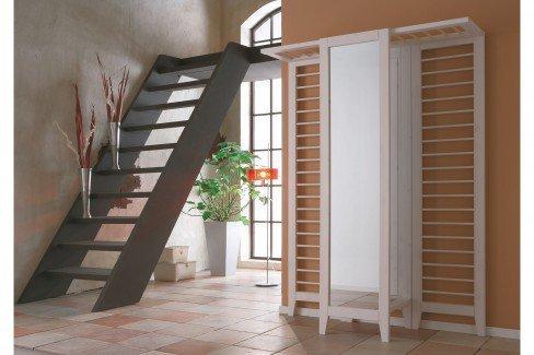garderobe butler kiefer in wei von iversen interior m bel letz ihr online shop. Black Bedroom Furniture Sets. Home Design Ideas