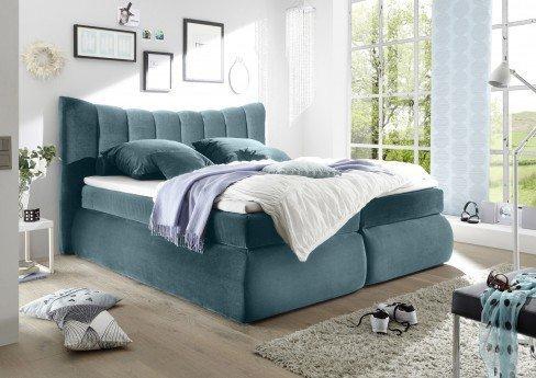 boxspringbett seward saint paul von black red white in petrol m bel letz ihr online shop. Black Bedroom Furniture Sets. Home Design Ideas